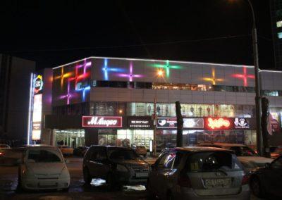 архитектрное освещение ТРЦ