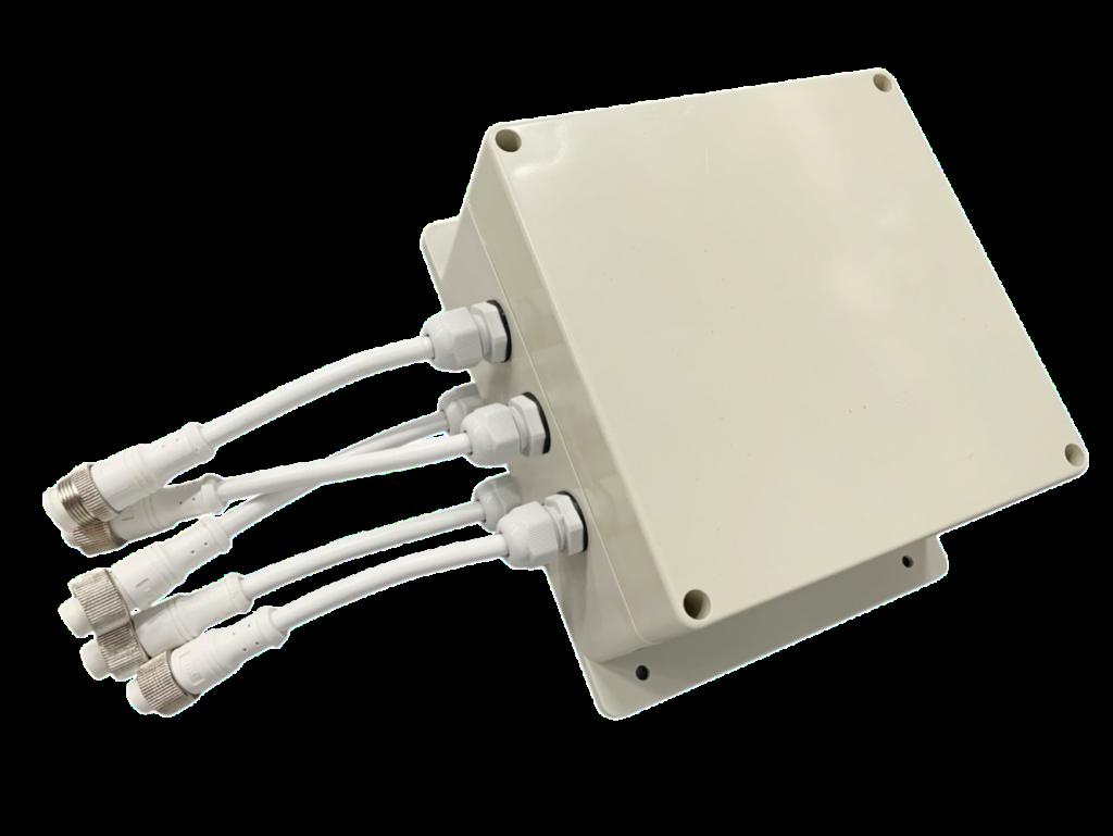 Контроллер управления световыми установками SPI, DMX