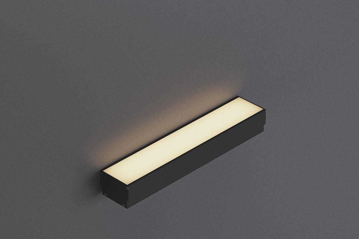встраиваемый линейный архитектурный светильник