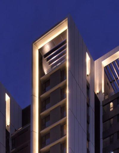 заливающий свет в архитектурной подсветке