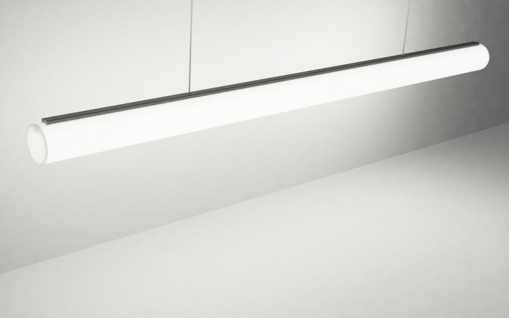 Подвесные светильники в виде светодиодной трубки