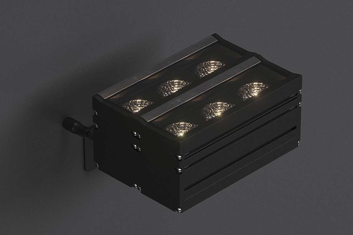 Компактный акцентный архитектурный светильник