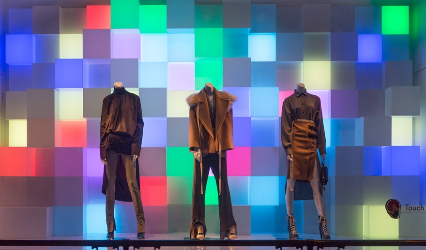 динамичные световые кинетические кубы