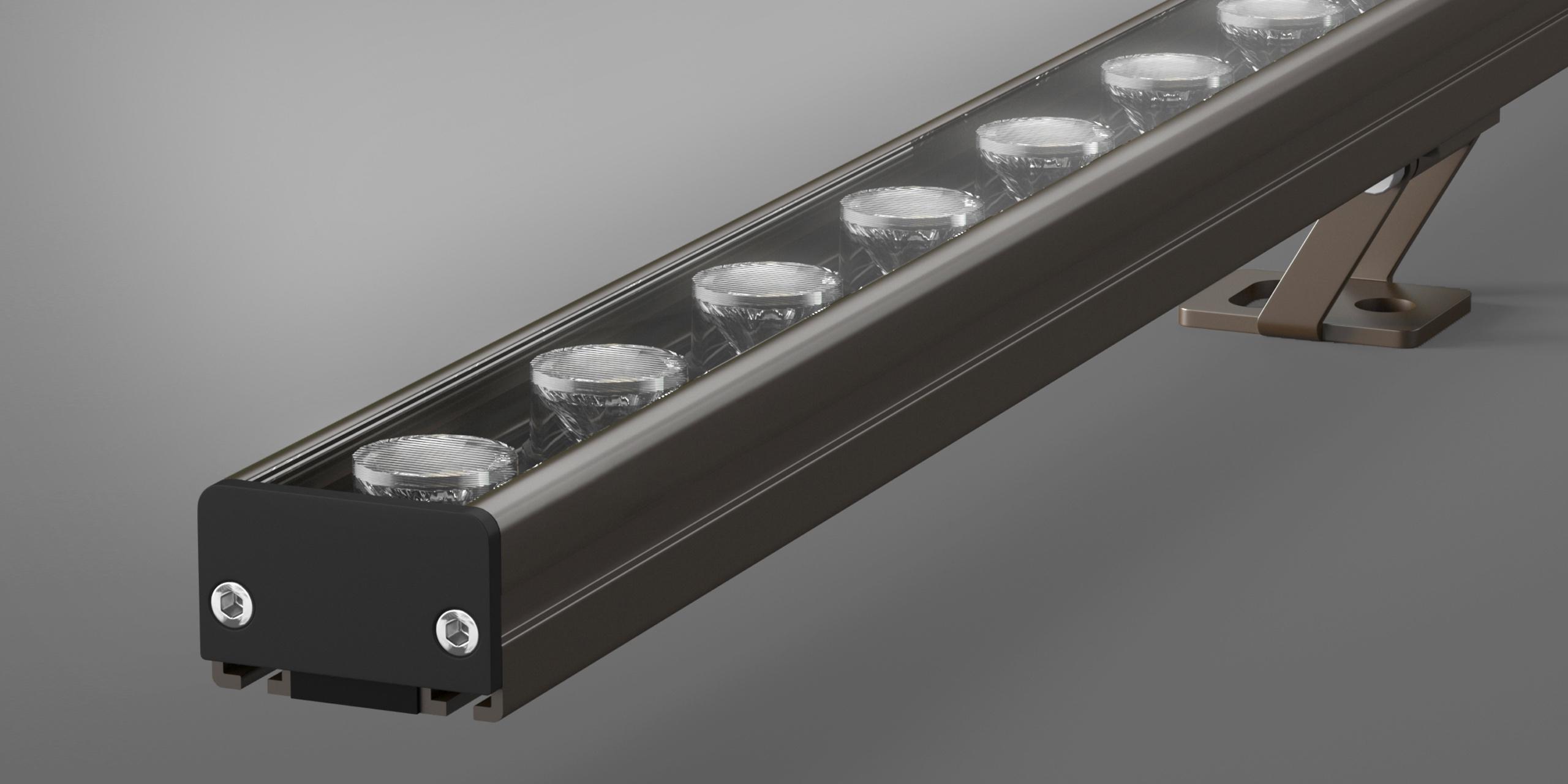 Архитектурный линейный светильник Lumen