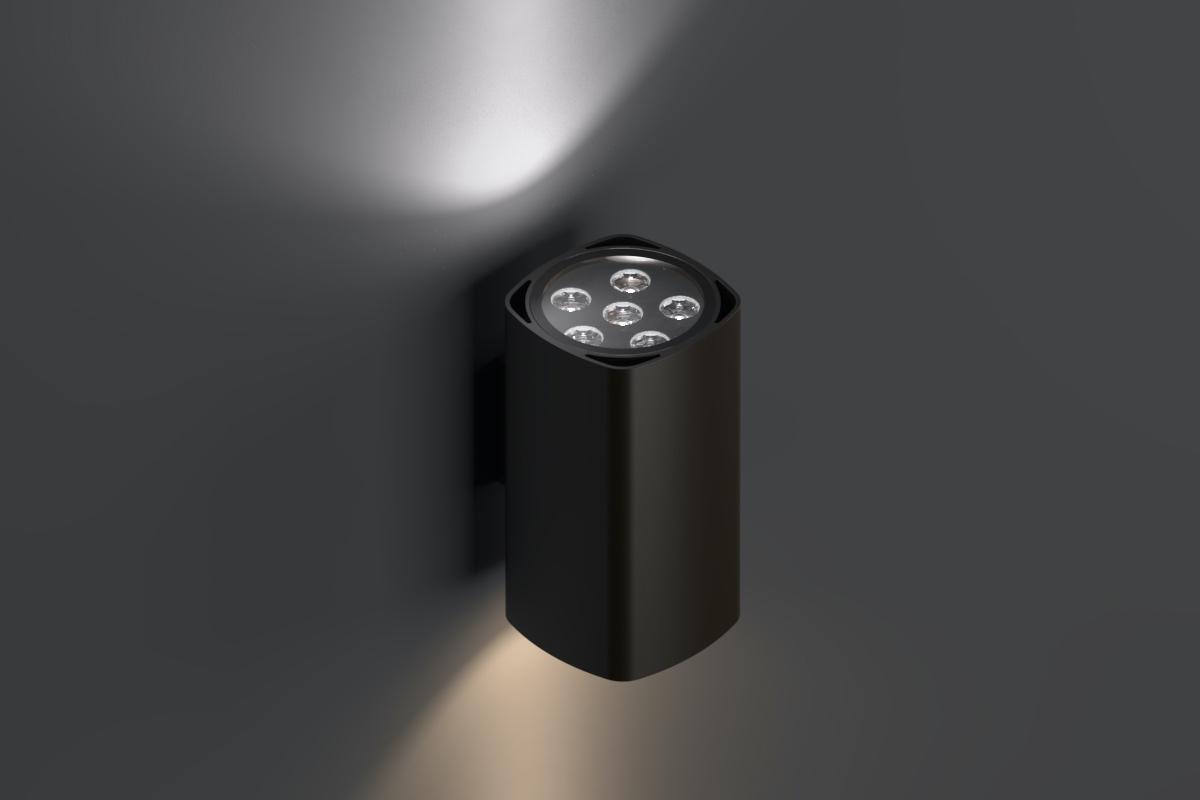 Архитектурный фасадный светильник прожектор Quatra Duo