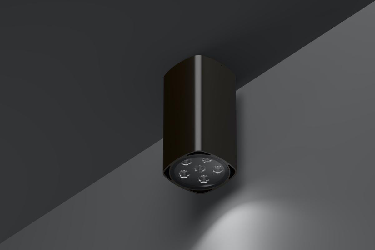 Архитектурный потолочный светильник Quatra Top