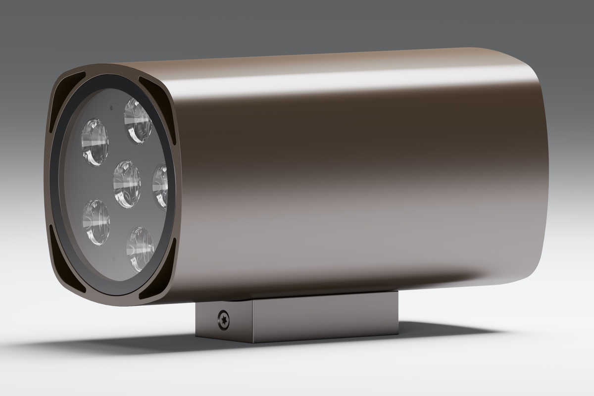 Архитектурный фасадный светильник прожектор Quatra