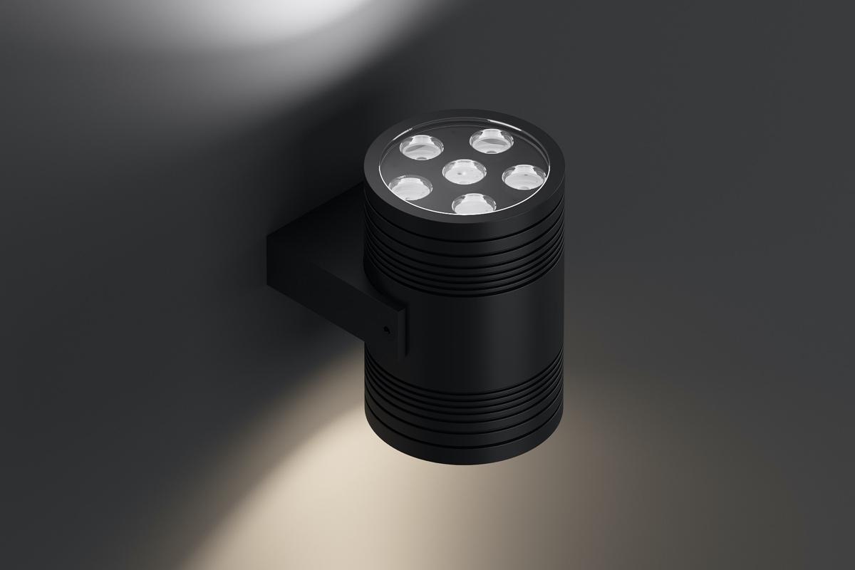 Архитектурный акцентный светильник прожектор duplex