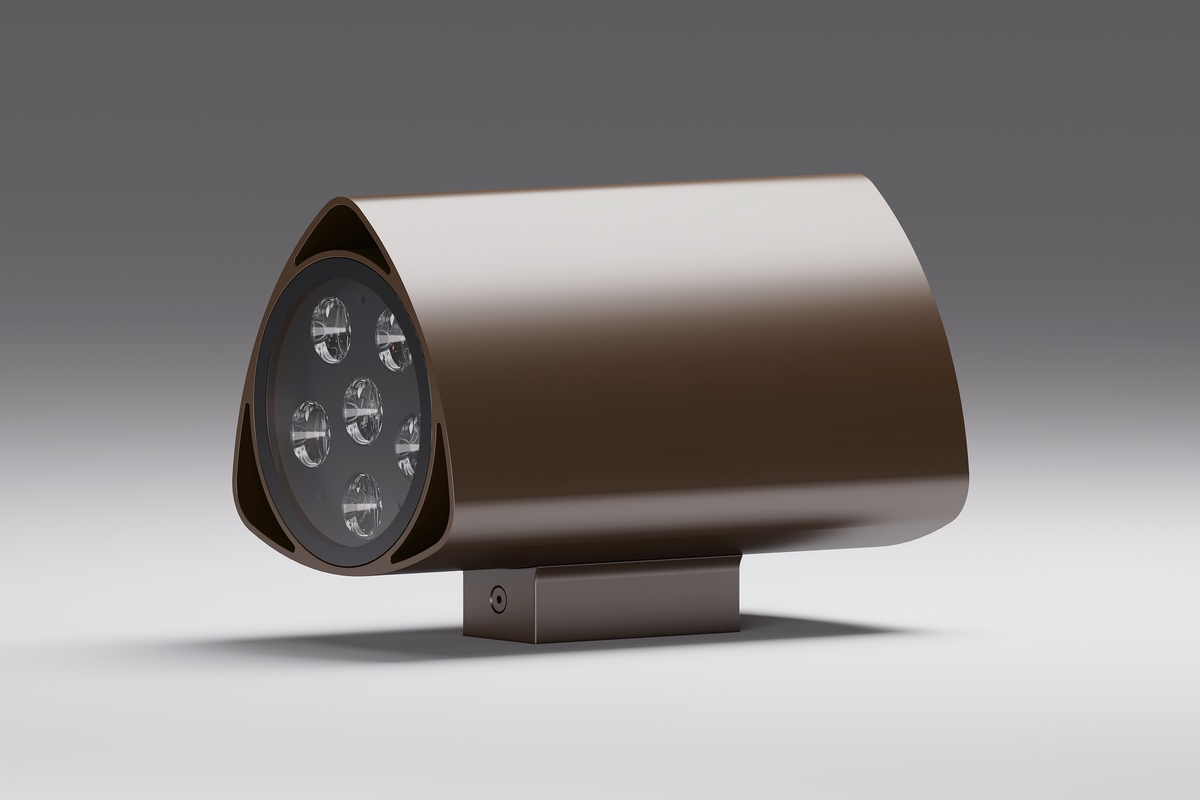 Архитектурный фасадный светильник прожектор tetra